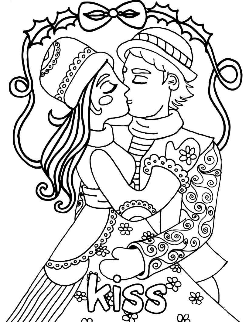 25 dibujos de amor para descargar, imprimir y pintar | Colorear imágenes