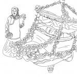 Dibujos del Carnaval Chino para pintar