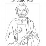 19 de marzo – Día de San José para pintar