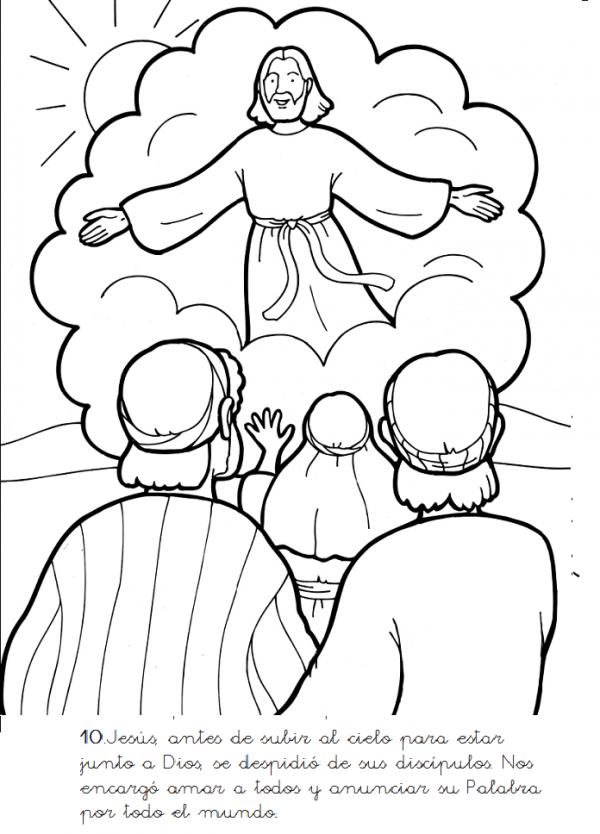 dibujo jesus
