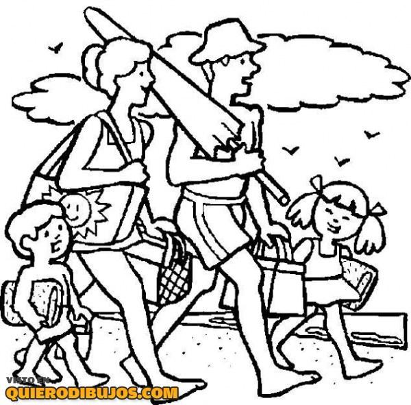 familia-a-la-playa