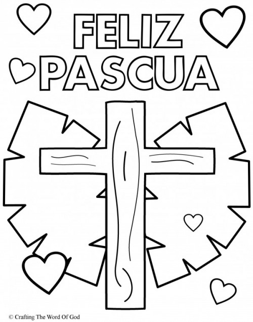 Carteles De Feliz Pascua Para Imprimir Y Colorear El Domingo Pascual