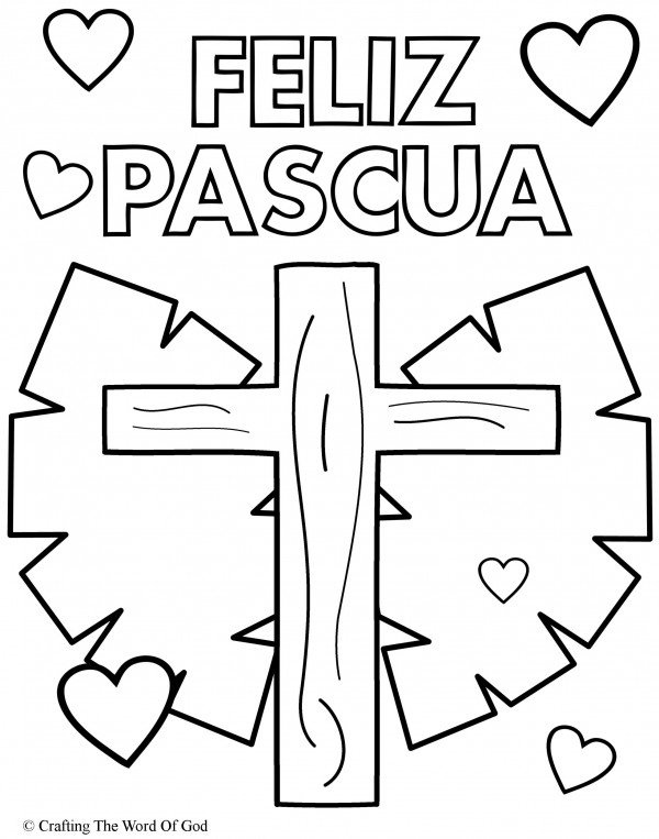 Carteles de Feliz Pascua para imprimir y colorear el Domingo Pascual ...