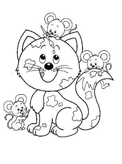 gatito-para-colorear-