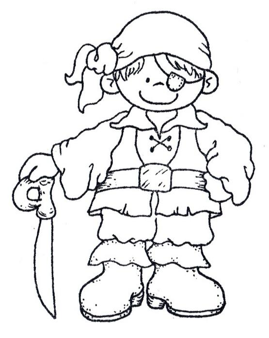 Dibujos Infantiles De Piratas Para Colorear Colorear Imágenes