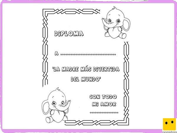 Tarjetas 10 De Mayo Para Colorear. Interesting Un Ramo De Flores ...