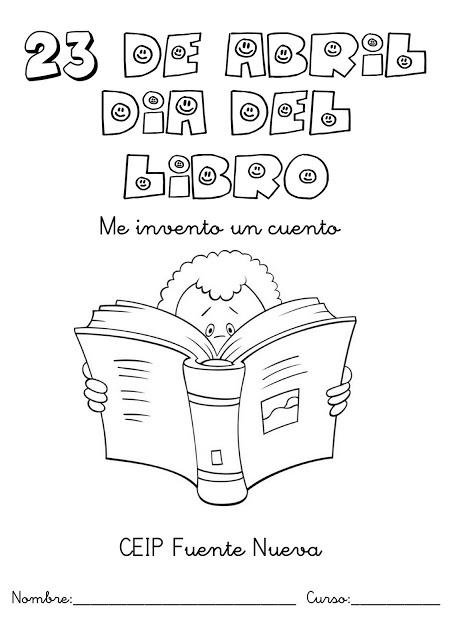 Pintando dibujos del Día Internacional del Libro