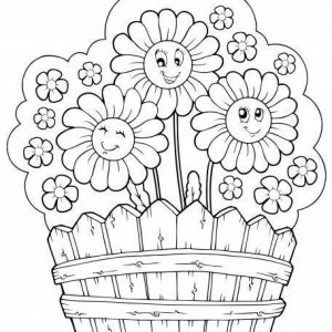Daisy-flower-coloring-pages-300x300