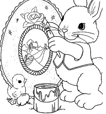 Dibujos Pascua 8