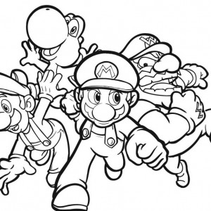 Printable-mario-coloring-pages-300x300