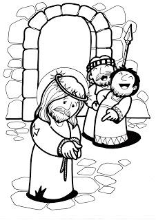 Dibujos Para Colorear Dibujos De Semana Santa Via Crucis
