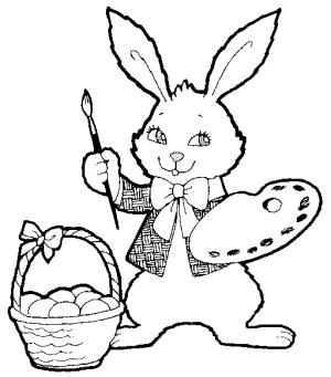 colorear-conejo-de-pascua-300x341