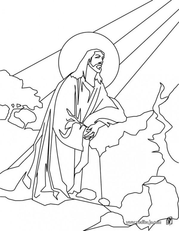 dibujo-para-colorear-jesus-en-el-monte-de-los-olivos_e2j