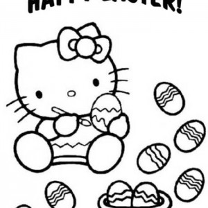 happy-hello-kitty-decorate-easter-egg-coloring-pages-300x300