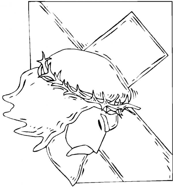 jesus-en-la-cruz-para-colorear