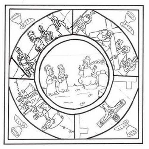 Mandalas de Pascuas para imprimir y colorear | Colorear imágenes
