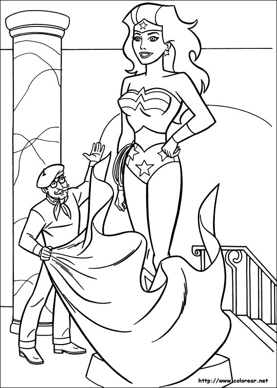 Dibujos de la Mujer Maravilla para pintar este 8 de marzo Día ...