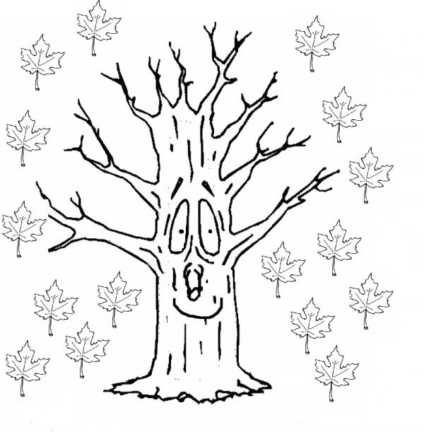 Dibujos de otoño para imprimir y pintar | Colorear imágenes