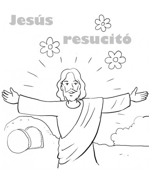 Dibujos Del Domingo De Resurrección Para Descargar Imprimir Y