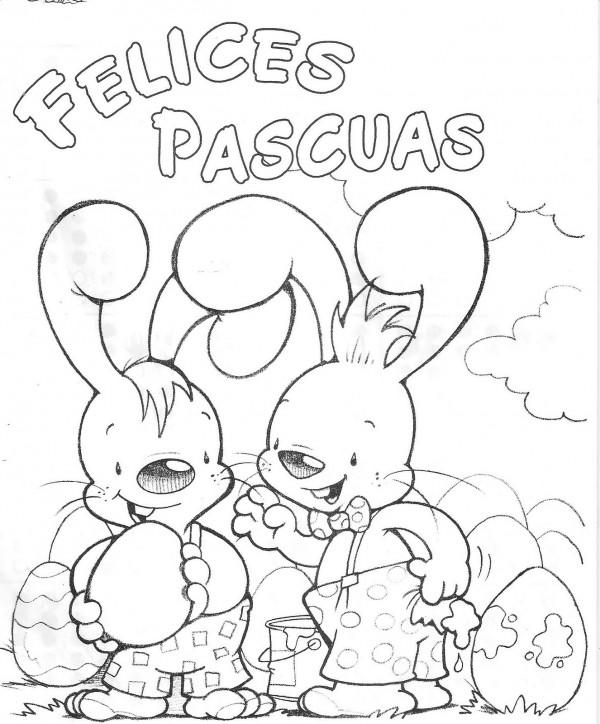 Dibujos de Semana Santa para imprimir y pintarlos | Colorear imágenes