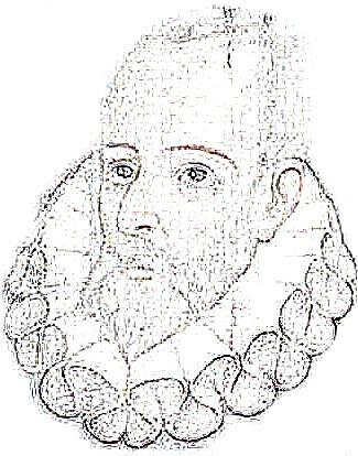 Miguel de Cervantes Saavedra para colorear pintar