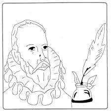 Miguel de Cervantes Saavedra para colorear pintar.jpg1