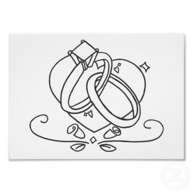 anillos-de-boda-para-colorear