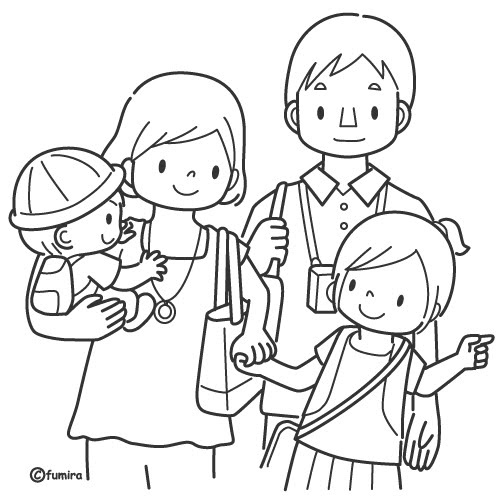 familia-para-colorear-013