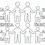 Día de la Familia – Dibujos para pintar