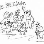 Pintando bonitos dibujos del Día de la Familia
