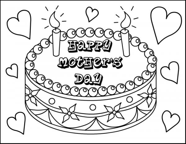 happy mother s day dibujos para imprimir y colorear en el d a de la madre colorear im genes. Black Bedroom Furniture Sets. Home Design Ideas
