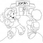 Dibujos del Día de los Jardines de Infantes para colorear