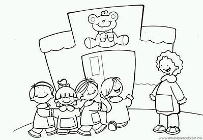 Dibujos Del Día De Los Jardines De Infantes Y Las Maestras