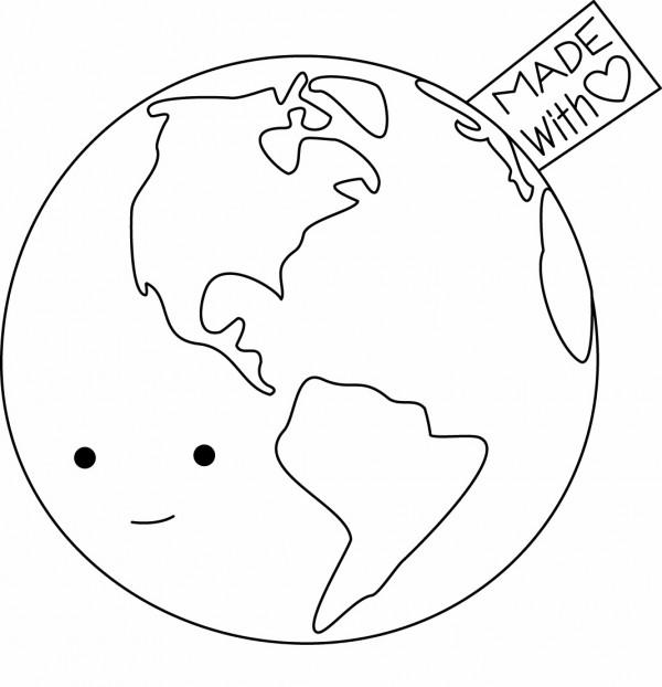 Pintando Dibujos Del D 237 A Mundial De La Tierra Colorear