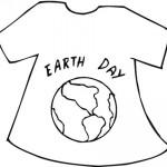 Dibujos infantiles del Día de la Tierra para descargar, imprimir y pintar