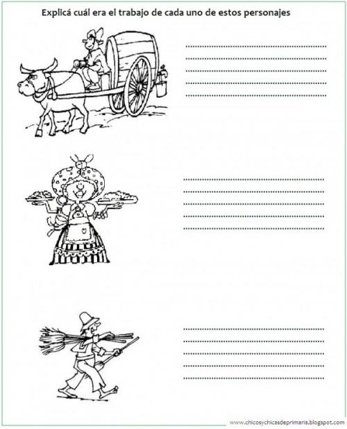 Divertidas Actividades Infantiles De La época Colonial Dibujos