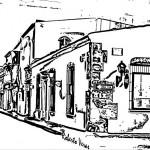 Casas tradicionales de la época de la colonia para pintar