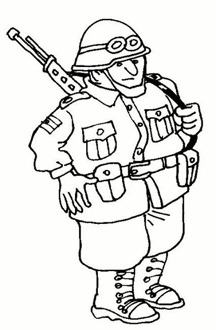 Dibujos De Soldados Para Descargar Imprimir Y Colorear Colorear Imágenes