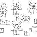 Divertidas actividades infantiles para colorear y recortar