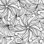 Dibujos abstractos para imprimir y pintar