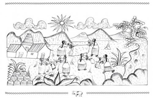 Dibujos De Indígenas Para Imprimir Y Colorear Colorear