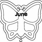 Dibujos de June (Junio) para imprimir y pintar
