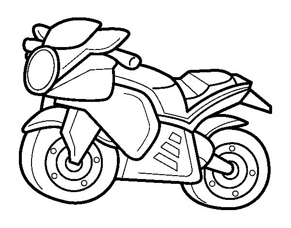 im u00e1genes de espectaculares motos para descargar y pintar