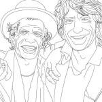 Dibujos de celebridades británicas para imprimir y colorear