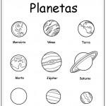 Imágenes del  los planetas para colorear