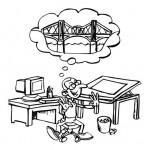 Dibujos del Día del Ingeniero para pintar