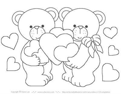 Dibujos para colorear de Amor y