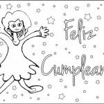 Tarjetas de cumpleaños para colorear y regalar