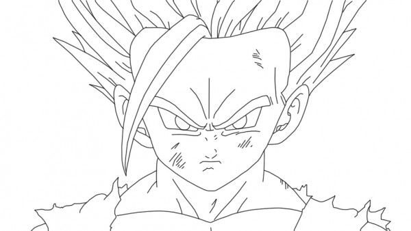 Im 225 Genes Para Colorear De Dragon Ball Z Muy Originales