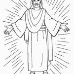 Dibujos de Jesús para imprimir y colorear